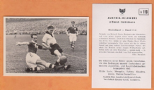 West Germany v Ireland Termath Rot Weiss Essen Klodt Schhalke 04 Fallon Glasgow Celtic A119 (B)